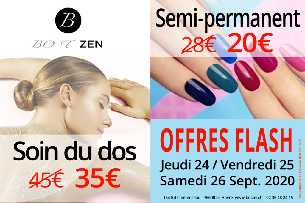 Offres-flash-institut-BOTZEN-Le-Havre-Soin-du-dos-Semi-permanent