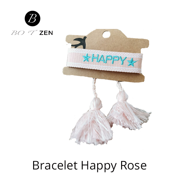Bracelet-Happy-rose