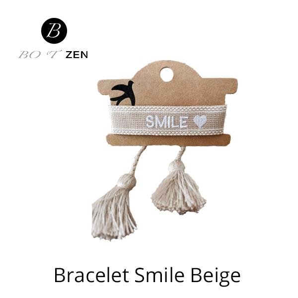 Bracelet-Smile-beige