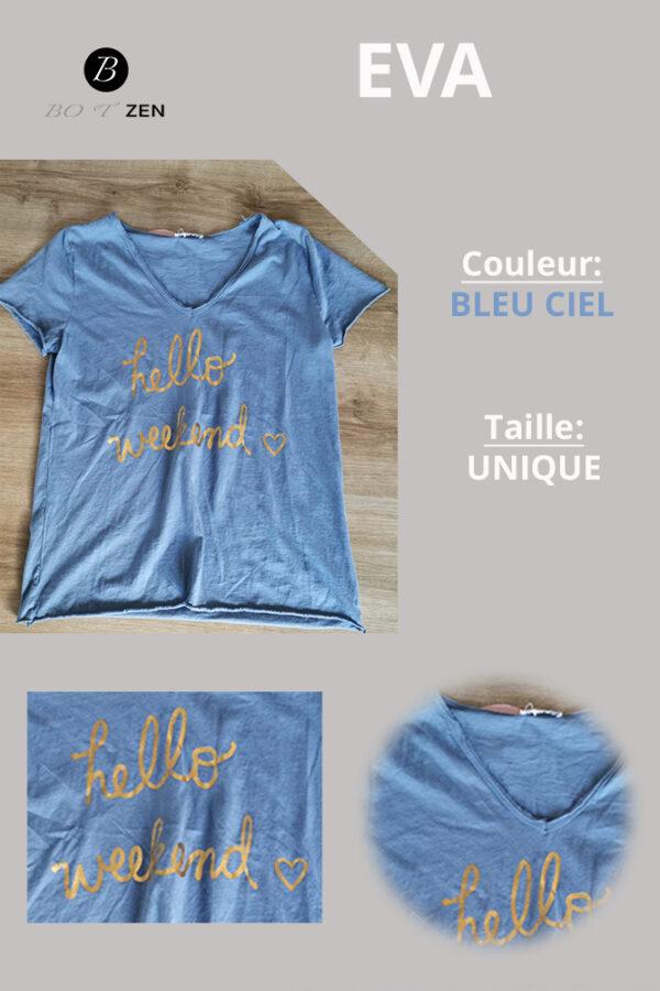T-shirt-mc-EVA-ciel-BOTZEN-Le-Havre