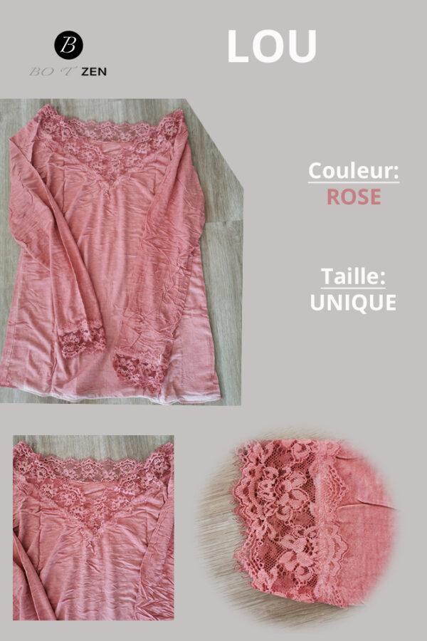 t-shirt lou rose botzen Le havre