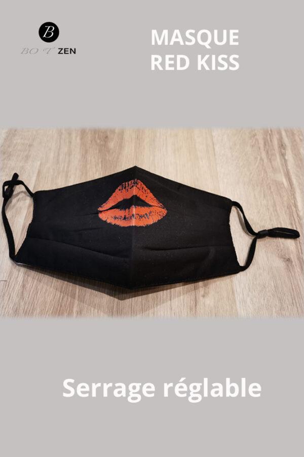 Masque lavable kiss