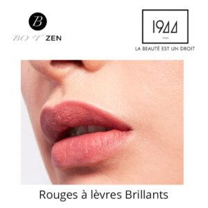 Rouges à lèvres brillants