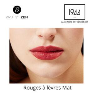 Rouges à lèvres mat