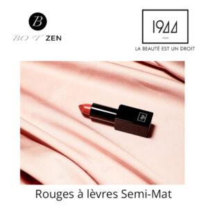 Rouges à lèvres semi-mat